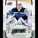 2015-16 MVP Hockey  Silver Script Parallel  #124  Brian Elliott