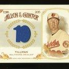 2015 Topps Allen & Ginter  Relic Card  #FSRB-CT  Chris Tillman