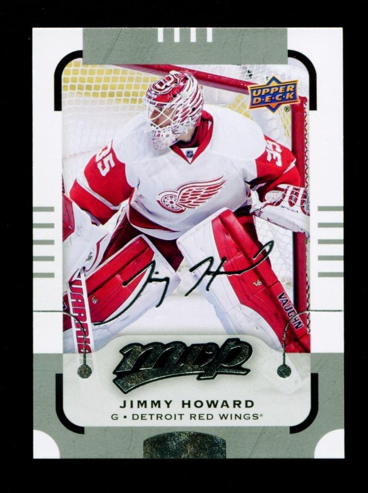 2015-16 MVP Hockey  Silver Script Parallel  #98  Jimmy Howard