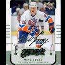 2015-16 MVP Hockey  Silver Script Parallel SP  #173  Mike Bossy