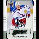 2015-16 MVP Hockey  Silver Script Parallel  #87  Derek Stepan