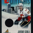 2010-11 Panini Hockey  PINNACLE  City Lights  #16  Jarome Iginla  163/499