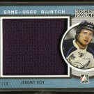 2014-15 ITG Leaf Heroes & Prospects Game Used Swatch Jersey  Jeremy Roy  60/60