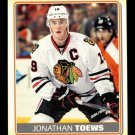 2012-13 O-Pee-Chee Hockey  Sticker  #S-24  Jonathan Toews