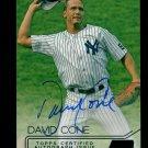 2015 Topps Baseball Stadium Club  Autograph #SCA-DC  David Cone  3/50 White Foil