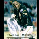 2015 Topps Baseball Stadium Club  White Foil  #73  Starling Marte