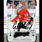 2015-16 MVP Hockey  Silver Script Parallel SP  #161  Corey Crawford