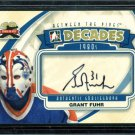 2011-12 ITG Between the Pipes Goaliegraph Autograph  A-GF  Grant Fuhr