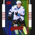 2015-16 MVP Hockey Colours and Contours #51  Matt Nieto  Teal Level 3
