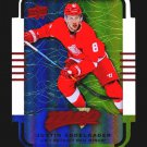 2015-16 MVP Hockey Colours and Contours #54  Justin Abdelkader  Teal Level 3