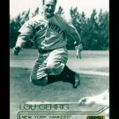 2015 Topps Baseball Stadium Club  GOLD Foil  #186  Lou Gehrig