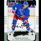 2015-16 MVP Hockey  Silver Script Parallel  #81  Kevin Hayes