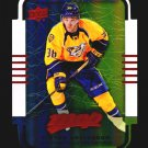 2015-16 MVP Hockey Colours and Contours #186  Viktor Arvidsson  Teal Level 3  RC