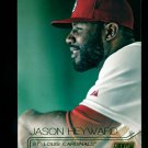 2015 Topps Baseball Stadium Club  GOLD Foil  #115  Jason Heyward