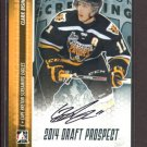 2014 ITG Hockey Draft Prospects AUTOGRAPH  Clark Bishop  #A-CB1