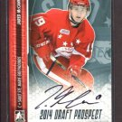 2014 ITG Hockey Draft Prospects AUTOGRAPH  Jared McCann  #A-JM2