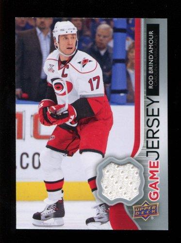 2014-15 Upper Deck Hockey Series 2  Game Jersey  #GJ-RB  Rod Brind'Amour
