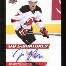 2014-15 Upper Deck Hockey Series 2 UD Signatures  #UDS-JM  Jon Merrill