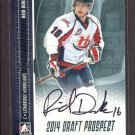 2014 ITG Hockey Draft Prospects AUTOGRAPH  Reid Duke  #A-RD1