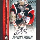 2014 ITG Hockey Draft Prospects AUTOGRAPH  Brent Moran  #A-BM2