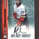 2014 ITG Hockey Draft Prospects AUTOGRAPH  Anton Karlsson  #A-AkA2