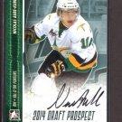 2014 ITG Hockey Draft Prospects AUTOGRAPH  Nicolas Aube-Kubel  #A-NA2
