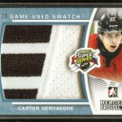 2014-15 ITG Leaf Heroes & Prospects Super Series PATCH  Carter Verhaeghe  18/20