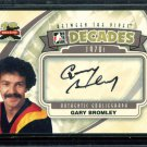 2011-12 ITG Between the Pipes Goaliegraph Autograph  A-GB  Gary Bromley