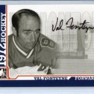 ITG 1972 The Year in Hockey  Autograph  #A-VF  Val Fonteyne