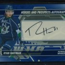 2013-14 ITG Heroes & Prospects AUTOGRAPH  Ryan Hartman  A-RH  Auto