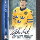 2014 ITG Hockey Draft Prospects AUTOGRAPH  Adam Ollas Mattsson  #A-AO2