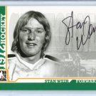 ITG 1972 The Year in Hockey  Autograph  #A-SW  Stan Weir