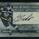 2013-14 ITG Heroes & Prospects AUTOGRAPH  Clark Bishop  A-CB  Auto