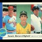 1984 Fleer Baseball  #639  1983 No-Hitters  Forsch  Warren  Righetti