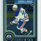2014-15 OPC O-Pee-Chee Hockey Platinum Base  #197  Darnell Nurse  RC