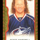 2014-15 Upper Deck Masterpieces  Red Framed Cloth  #74  Scott Hartnell  58/100