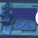 2012 Topps Strata Clear Cut Autograph Relic  #CCAR-BP  Bernard Pierce  RC