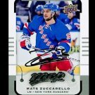 2015-16 MVP Hockey  Silver Script Parallel  #60  Mats Zuccarello