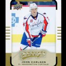 2015-16 Upper Deck MVP Hockey  High Number  SP  #132  John Carlson