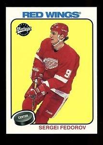 2001-02 UD Hockey NHL Vintage  #90  Sergei Fedorov