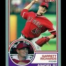 2015 Topps Baseball Archives  Silver Border  #245  Garrett Richards  12/199