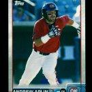 2015 Topps Baseball Pro Debut  #177  Andrew Aplin
