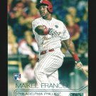 2015 Topps Baseball Stadium Club  #116  Maikel Franco  Phillies  RC
