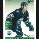 2001-02 UD Hockey Vintage  Team Leaders  #104  Edmonton Oilers  Ryan Smyth