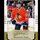 2015-16 Upper Deck MVP Hockey  High Number  #102  Brandon Saad  SP