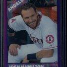2015 Topps Heritage Baseball  Purple Refractor  #THC-437  Josh Hamilton