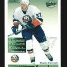 2001-02 UD Hockey Vintage  Team Leaders  #164  NY Islanders  Mark Parrish