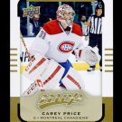 2015-16 Upper Deck MVP Hockey  High Number  SP  #108  Carey Price