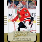 2015-16 Upper Deck MVP Hockey  High Number  SP  #161  Corey Crawford