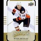 2015-16 Upper Deck MVP Hockey  High Number  #101  Ryan Getzlaf  SP
